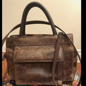 GIANI BERNINI Satchel Leather Bag 💼